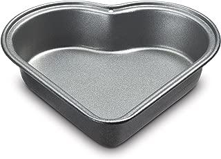 Cuisinart CMBM-4HRT1 4-Pc Mini Heart Pan Set, Small, Black