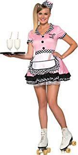 female waiter costume