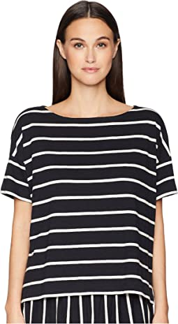Bateau Neck Box-Top