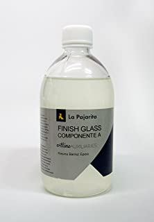 LA PAJARITA FINISH GLASS - COMPONENTE A (RESINA BARNIZ EPOXI) - 500ML