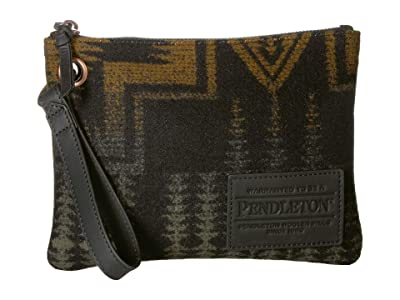 Pendleton Clutch w/ Grommet (Harding Army) Clutch Handbags