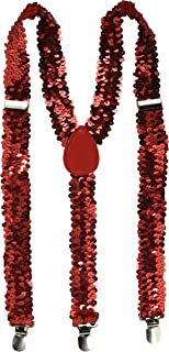 Forum Novelties Men's Adult Sequin Suspenders