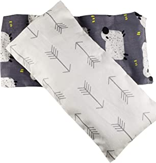 Eye Pillow for Yoga, Relaxation, and Sleep, with Lavender and Flax Seed Inner Pillow and 2 Washable Pillow Cases