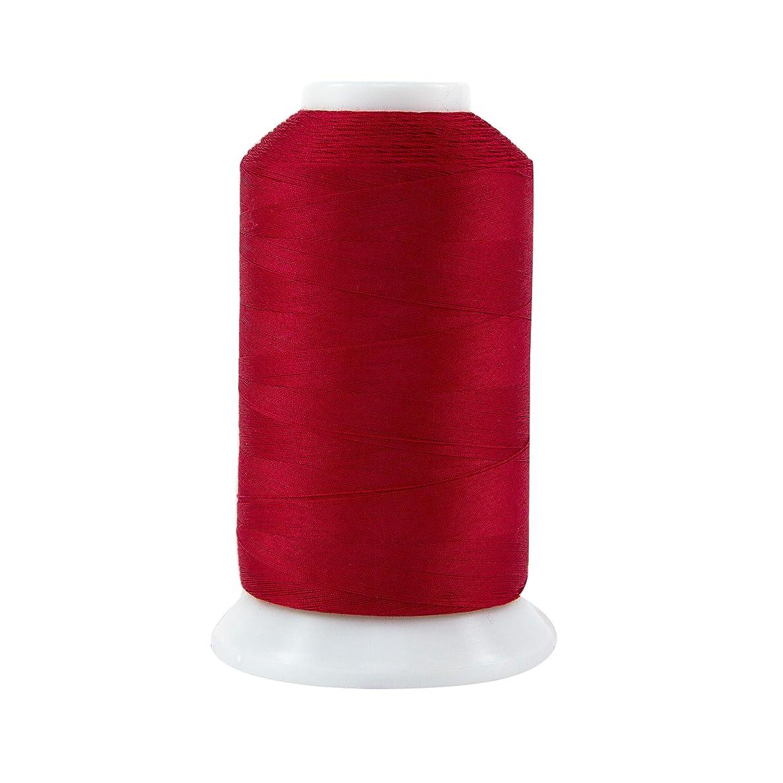 Superior Threads 12402-118 Masterpiece Renae Red 3-Ply 50W Cotton Thread, 2500 yd