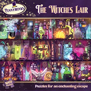 Jigsaw Puzzle for Adults 1000 Piece - The Witches Lair by Pennywinks