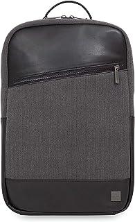 "Knomo Holborn Southampton, 15.6"" Laptop Backpack, with Adjustable Straps and Suitcase Slip Pocket, Black"