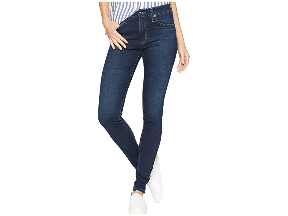 Image of AG Adriano Goldschmied Farrah Skinny in 8 Years Blue Lament (8 Years Blue Lament) Women's Jeans