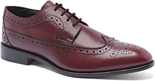 Anthony Veer Men's Regan Wingtip Oxford Full Grain Leather Shoes Goodyear Welt