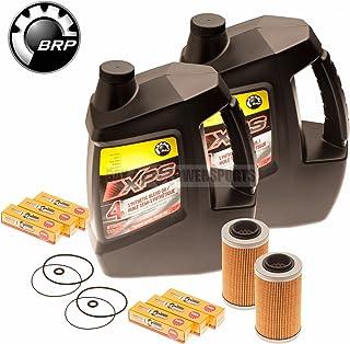 Sea Doo Oil Change Kit W/Filter O Rings & Spark Plugs 2 Pack 4-Tec GTI GTX GTS