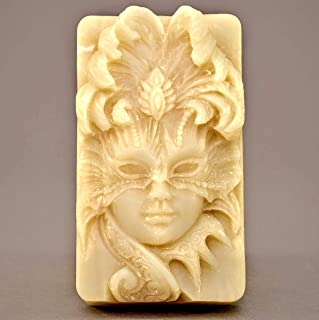 Venetian MASK Silicone Mold SOAP Plaster Wax Resin Clay Theatrical Carnival