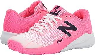 (ニューバランス) New Balance メンズランニングシューズ?スニーカー?靴 996v3 Alpha Pink/White ピンク/ホワイト 7 (25cm) B