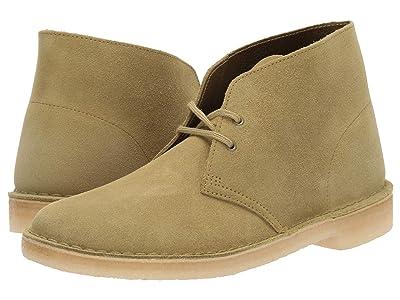 Clarks Desert Boot (Khaki Suede) Men