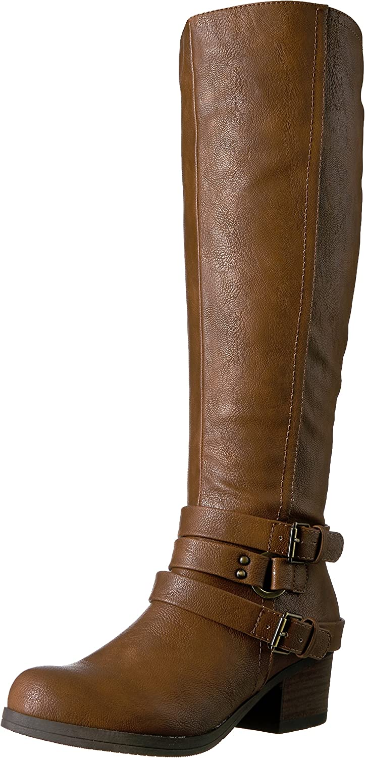 Carlos by Carlos Santana Womens Camdyn Riding Boot
