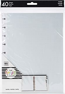 Me & My Big Ideas Planner Medium Fill Paper 40/Pkg-Happy Journal Dot Grid