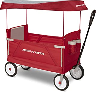 canvas wagon with canopy