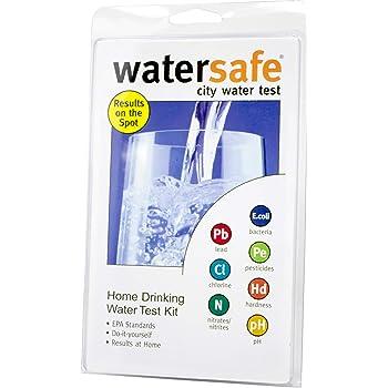 Watersafe City Water Test Kit, 1 EA