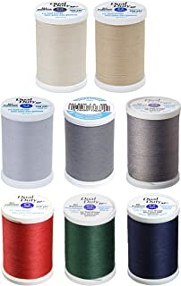 Coats /& Clark Dual Duty Plus Hand Quilting Cotton Thread 325 Yds 3-Pack Barberry Red Bundle with 1 Artsiga Crafts Seam Ripper S960-2820-3P