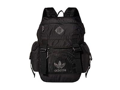 adidas Originals Originals Urban Utility II Backpack (Black/White) Backpack Bags