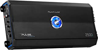 Planet Audio PL2500.1M Monoblock Car Amplifier - 2500 Watts, 2/4 Ohm Stable, Class A/B, MOSFET Power Supply, Great for Sub... photo