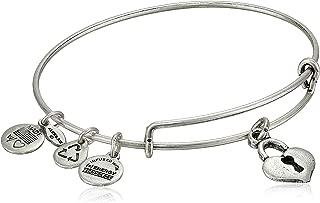 key to my heart charm bangle