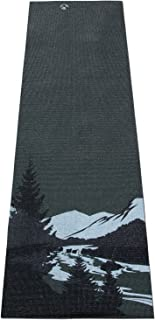 """Aurorae Classic/Printed Extra Thick and Long 72"""" Premium Eco Safe Yoga Mat with Non Slip Rosin Included"""