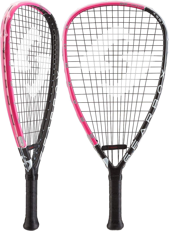 (3 5 8)  Gearbox M40 165 TEARDROP PINK Racquetball Racquet