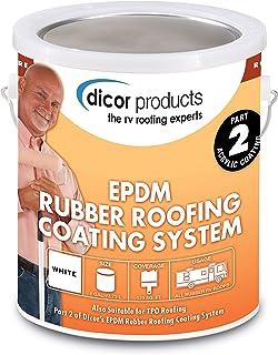 """Dicor Corporation 95D40-35 Epdm 9'6"""" X 35'Dove Rubber Roof"""