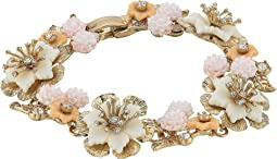 Marchesa - Force of Nature 7.25 Flex Floral Bracelet