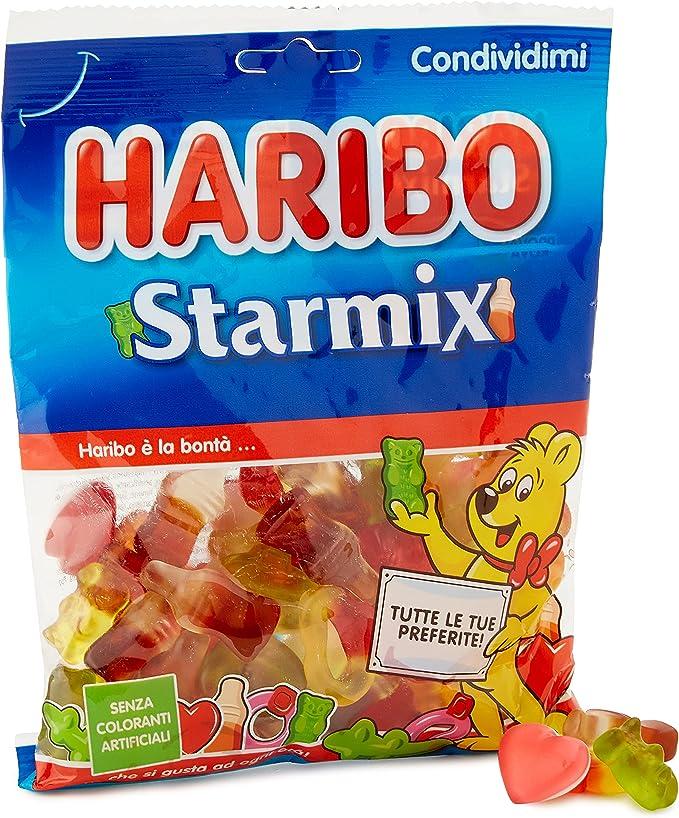 226 opinioni per Haribo Starmix Caramelle Gommose Gusto Frutta, 175g