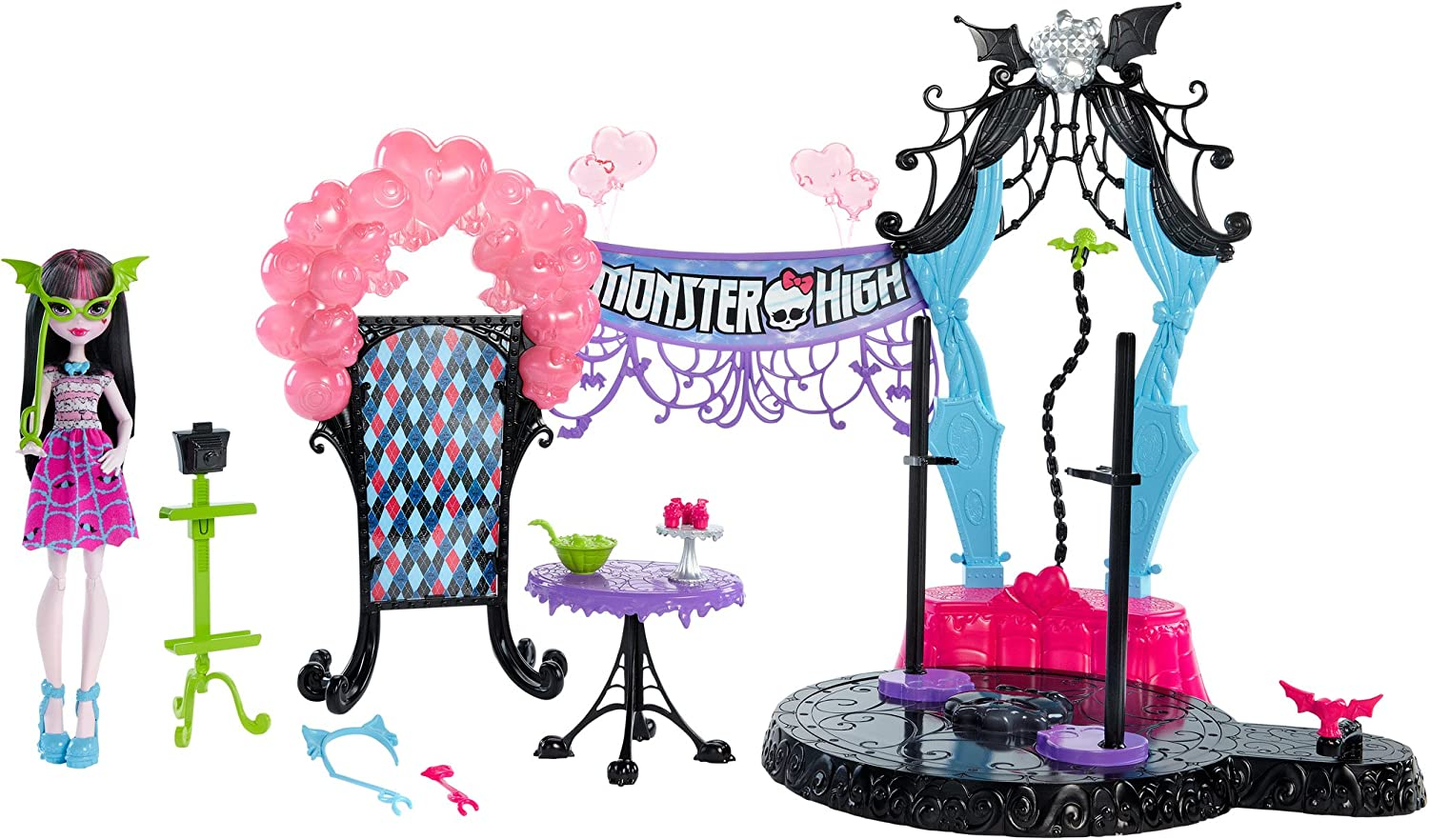 Monster High Welcome to Dance The Fright Away Playset