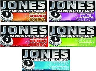 Jones Soda Candy 5 Flavor Variety Pack