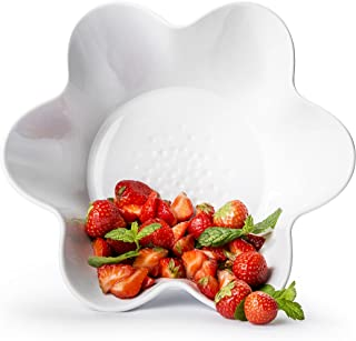 Sagaform 5017725 white serving bowl Servierschale Piccadilly weiß, Steingut