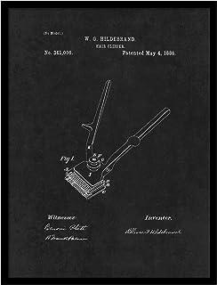ماكينة قص الشعر سبوت كولور آرت PATENT150013BK-2229BK 1886، 56 سم × 73 سم
