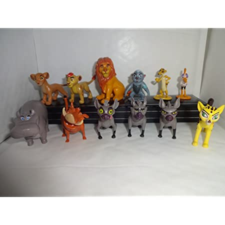 Disney Store Bunga Badger The Lion King Lion Guard Figure Figurine Cake Topper