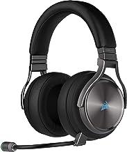 Corsair Virtuoso RGB Wireless SE Auriculares Alta Fidelidad Gaming (Sonido Envolvente 7.1, Micrófono Omnidireccional con C...
