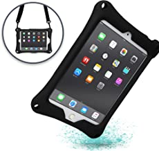 Cooper Bounce Strap Shoulder Strap Rugged Case for Apple iPad Mini 4 3 2 1   Multi-Functional Shock Proof Heavy Duty Cover with Stand, Shoulder and Hand Strap   Kids Adults (Black)