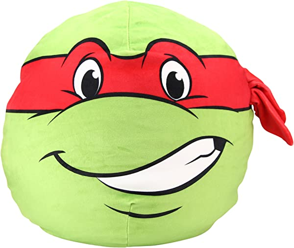 Northwest Kid S Character Travel Plush Pillow Ninja Turtles Raphael