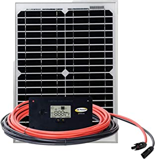 Go Power! GP-ECO-20 20-Watt Solar Kit with 10 Amp Regulator