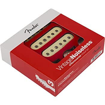 Fender Vintage Noiseless Stratocaster Pickups Set White, 3 Pickups