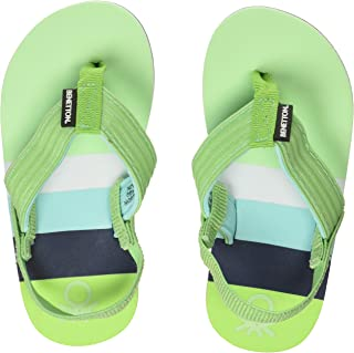 United Colors of Benetton Boy's 19a8cffpu505i Flip-Flops