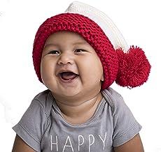 Huggalugs Baby Toddler Children or Adult Snowy Santa Stocking Hat