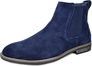 3f58ce1736ca2 BRUNO MARC NEW YORK Men's Urban-06 Suede Leather Chukka Ankle Boots