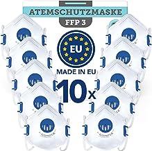 BEMS MEISTERWERK FFP3 MaskeWiederverwendbar(5 STK.)Made in EUCE zertifiziert (EN149:2001+A1:2009) – Premium Atemschutz...