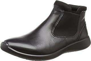 ECCO Womens Soft 5 Low Chelsea Soft 5 Low Chelsea Black Size: