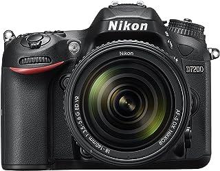 Nikon D7200 24.2 MP Digital SLR Camera (Black) with AF-S 18-140mm VR Kit Lens and 16GB Card, Camera Bag