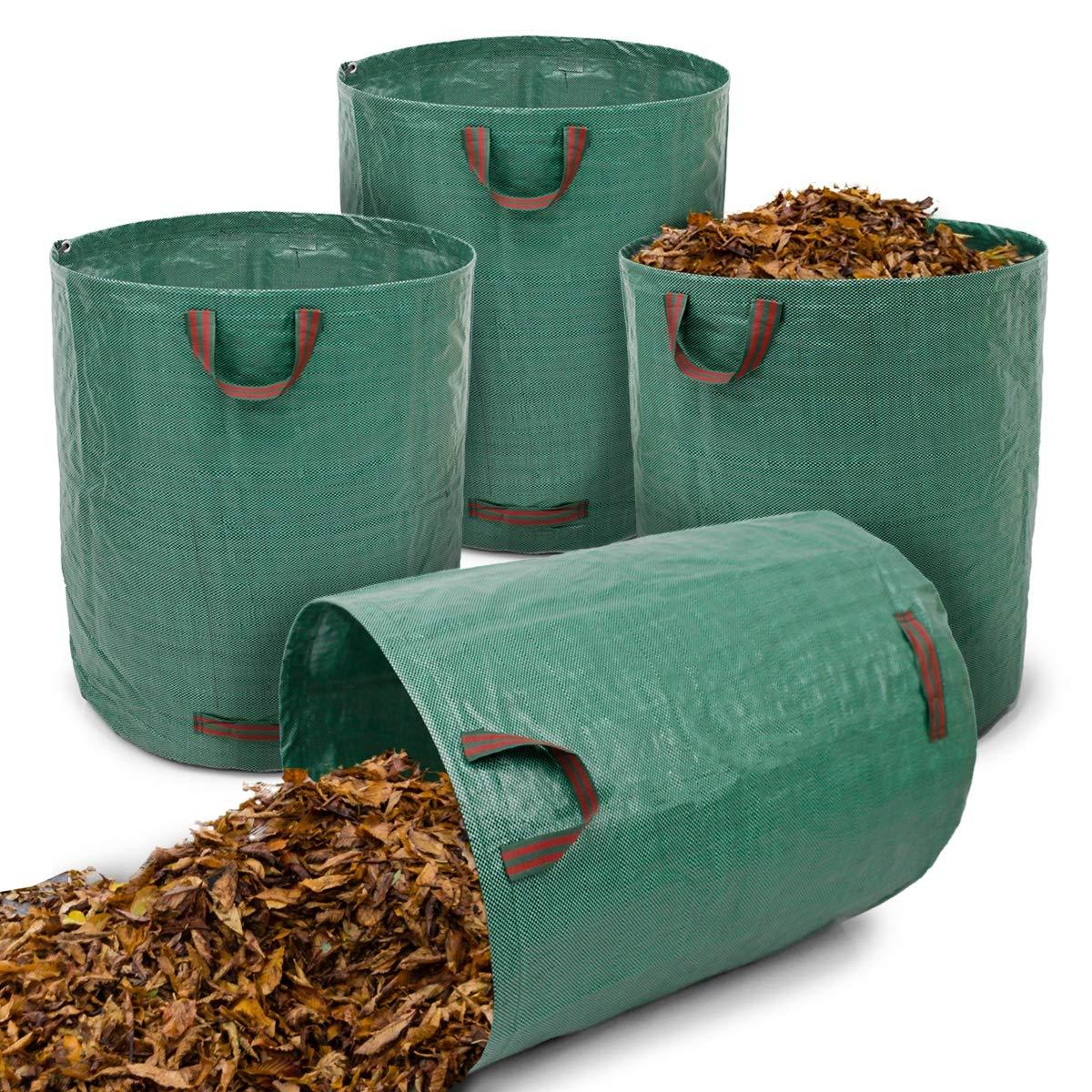 ECD Germany 4 x Bolsas de Residuos de Jardinería Saco para desechos de jardín 270L 67 x 76cm: Amazon.es: Bricolaje y herramientas