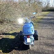 2PC - Schwarz SunTime Motorrad Satteltasche aus Leder und Fahrradtasche Gro/ße Kapazit/ät PU-Leder f/ür Dreieckige Au/ßentasche Universelles Taschenpaket von Lagerung f/ür Harley Davidson
