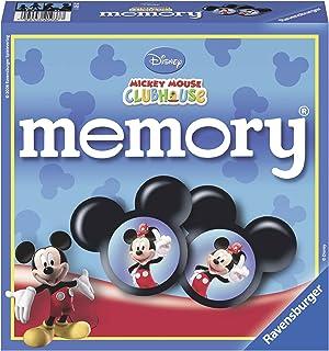 Ravensburger Disney Mickey Mouse Club House - Juego de memoria y puzzle , color/modelo surtido