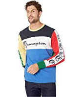 Todd Snyder - Todd Snyder + Champion Color Block Graphic Long Sleeve