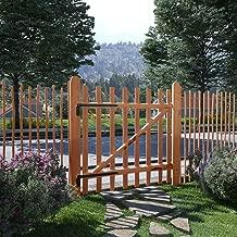 Gartentor Gartentür Holz Zaunlatten Zauntor Gartenzaun Zauntür 100x60-150cm NEU